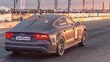 видео 1 мин. 23 сек. Fastest Audi RS7 in the World — 10.1 sec. on 1/4 mile раздел: Авто, мото добавлено: 12 июня 2015