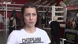 """видео 9 мин. 43 сек. Самая красивая боксерша надела на взвешивание футболку с надписью """"Скорбим Санкт-Петербург"""" раздел: Новости, политика добавлено: 3 июня 2017"""