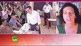 видео 1 мин. 6 сек. Греческий активист: Ничего похожего на спасение мы не видим раздел: Новости, политика добавлено: 6 июля 2015