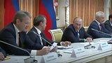 видео 47 сек. Ткачёв рассмешил Путина раздел: Новости, политика добавлено: 14 октября 2017