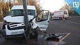 видео 12 мин. 40 сек. Школьный автобус врезался в скорую в Москве раздел: Новости, политика добавлено: 13 ноября 2017