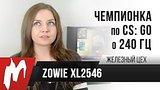 видео 5 мин. 41 сек. Чемпионка мира по CS:GO о 240 Гц — Zowie XL2546 — Железный цех — Игромания раздел: Игры добавлено: 28 апреля 2018