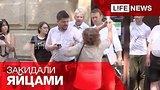 видео 45 сек. Навального закидали яйцами в Новосибирске раздел: Новости, политика добавлено: 17 июля 2015