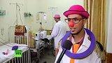 видео 1 мин. 45 сек. Активист «работает» клоуном-доктором, пытаясь скрасить жизнь больных палестинских детей раздел: Новости, политика добавлено: 19 июля 2015