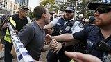 видео 59 сек. Австралийские националисты
