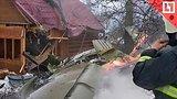видео 1 мин. 12 сек. Самолёт рухнул на дачи в Подмосковье раздел: Новости, политика добавлено: 1 марта 2019