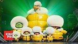 видео 2 мин. 22 сек. Angry Birds 2 в кино | Трейлер | KinoPRO раздел: Кино, ТВ, телешоу добавлено: 29 марта 2019