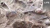 видео 38 мин. 39 сек. Останки четырёх тысяч человек поднимают под Новгородом раздел: Новости, политика добавлено: 7 мая 2019