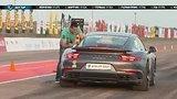 видео 1 мин. 50 сек. 1/8 Unlim 2018. 1600hp Nissan GT-R (DNF) vs 850hp Porsche 911 turbo s. Unlim Highlights. раздел: Авто, мото добавлено: 8 мая 2019