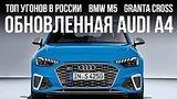 видео 10 мин. 53 сек. Обновленная Audi A4, самые угоняемые машины в РФ, Lada Granta Cross и... // Микроновости Май 19 раздел: Авто, мото добавлено: 18 мая 2019