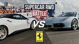 видео 4 мин. 26 сек. Ferrari 488 GTB battle + vs 800hp Huracan, E63s AMG st 2., JEEP Trackhawk. Unlim highlights. раздел: Авто, мото добавлено: 8 августа 2019
