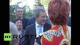 видео 1 мин. 2 сек. Французские парламентарии пообщались с жителями Симферополя раздел: Новости, политика добавлено: 24 июля 2015