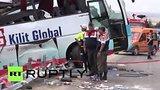 видео 55 сек. Автобус с российскими туристами попал в ДТП в Турции раздел: Новости, политика добавлено: 7 августа 2015