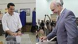 видео 1 мин. 3 сек. Выборы в Греции: Ципрас надеется сформировать новое правительство раздел: Новости, политика добавлено: 20 сентября 2015